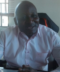 Mu'azu Sambo, Lagos Area Manager, NIWA